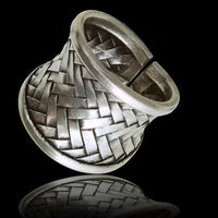 Tribal Silver Ring - Tribu