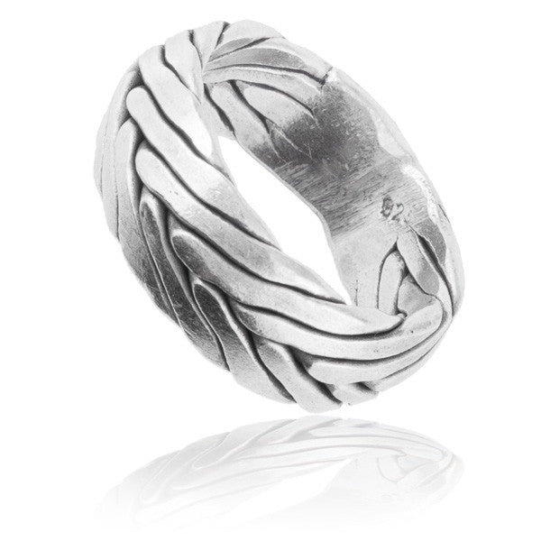 Tribal Silver Ring - Tribu  - 1