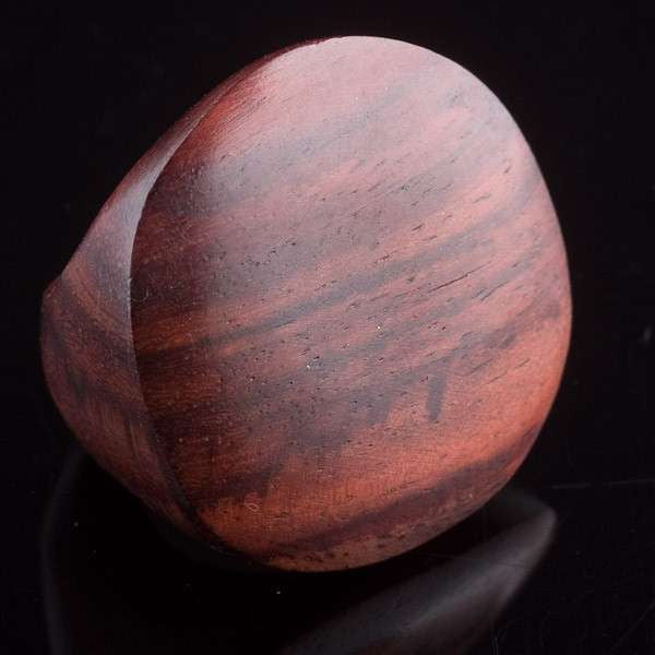 Chunky Rose Wood Ring - Tribu