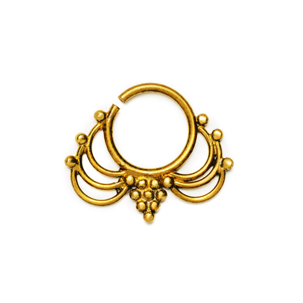 Rajani Brass Septum | Tribu London