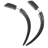 Camden Horn Fake Gauge Earring - Tribu  - 1