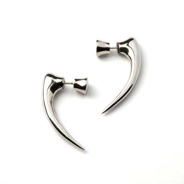 Silver Talon Spike Earring