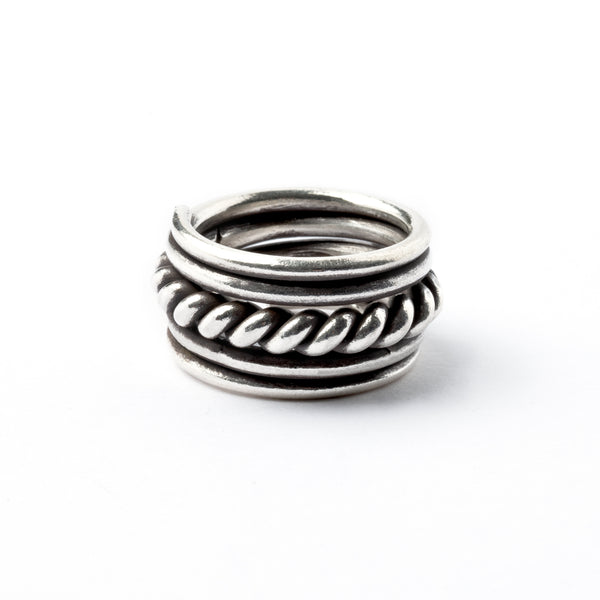 Silver Well Ring