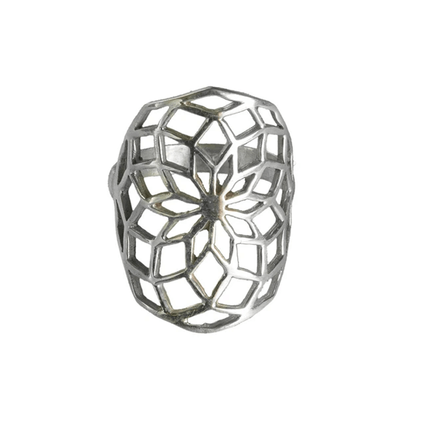 Silver Star Of Life Ring