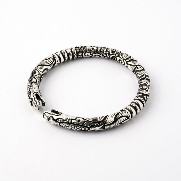 Sterling Silver Mei Long Cuff