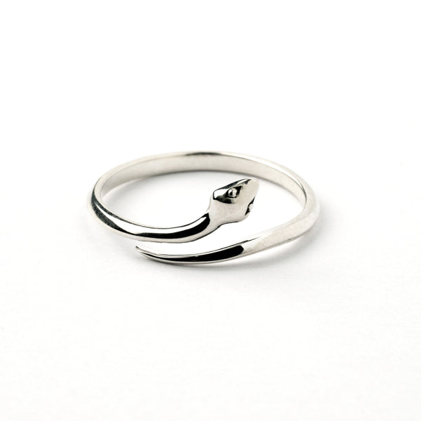 Snake of Eden Silver Ring