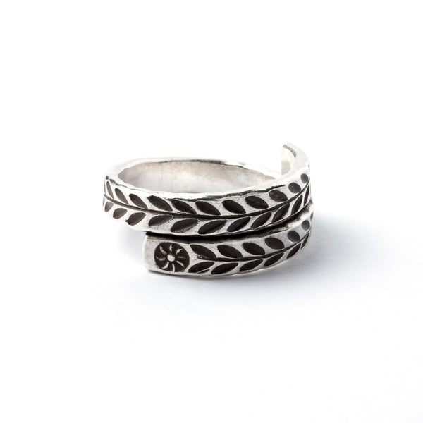Solstice Silver Ring