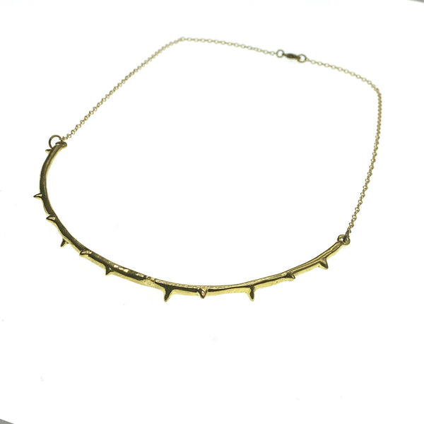 Stem Thorn Necklace