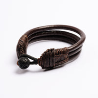 Three Cords Leather Bracelet |Tribu Jewellery London