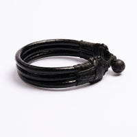 Three Cords Leather Bracelet