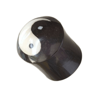 Yin And Yang Horn With Bone Plug