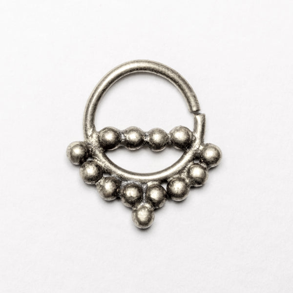 Zinat Silver Septum | Tribu Jewellery  London