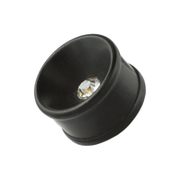 Zircon Black Wood Plug