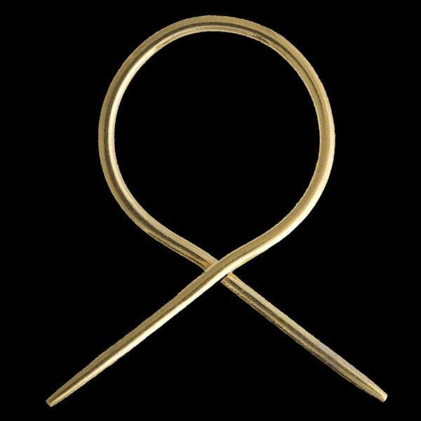Gold Twisted Hook - Tribu