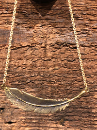 Guiding Feather Necklace