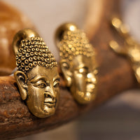 Brass Buddha Ear Weights