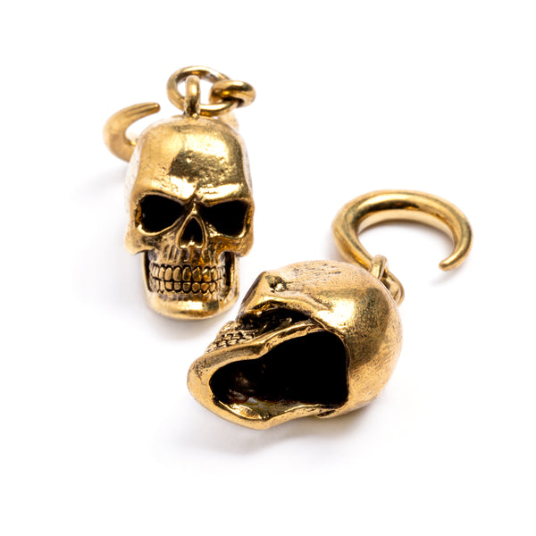 Skull Ear Weight | Tribu Dark Jewellery London