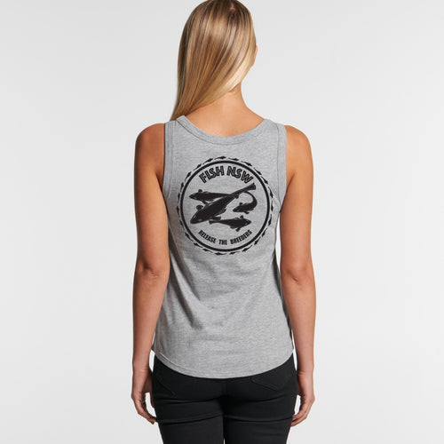 **PRE SALE**  WOMENS Release The Breeders - FLATHEAD SINGLET