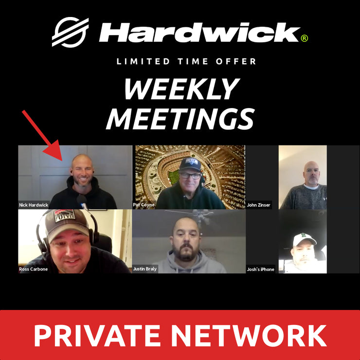 Private Network: Weekly Check-ins With Nick and Accountability App