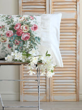 Vintage Country Roses Pillow