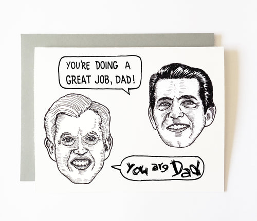 ERIC AND DON JR. father's day card