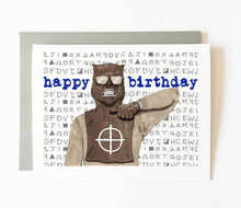 ZODIAC KILLER birthday card