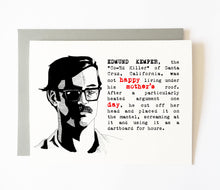 EDMUND KEMPER mother's day card