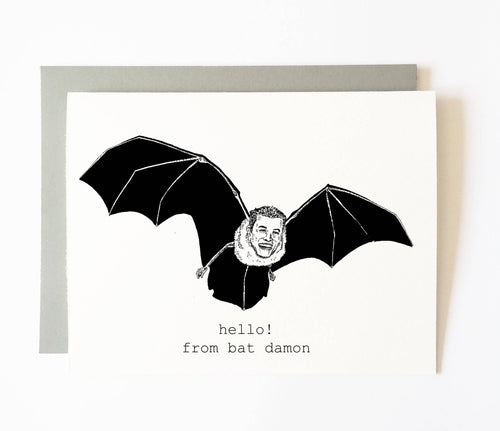 Greeting Cards Tagged Bat Depressive Ghoul