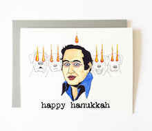 DAVID BERKOWITZ hanukkah card