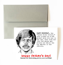 GARY RIDGWAY father's day card