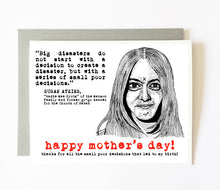 SUSAN ATKINS mother's day card