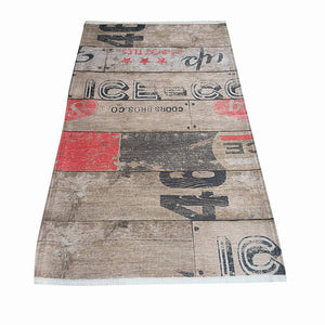 HomeRugShop Runner Rugs - High Quality Polyester -  Digital Printed with Coors Bro Design - Multicolor - MuslimPrayerRug