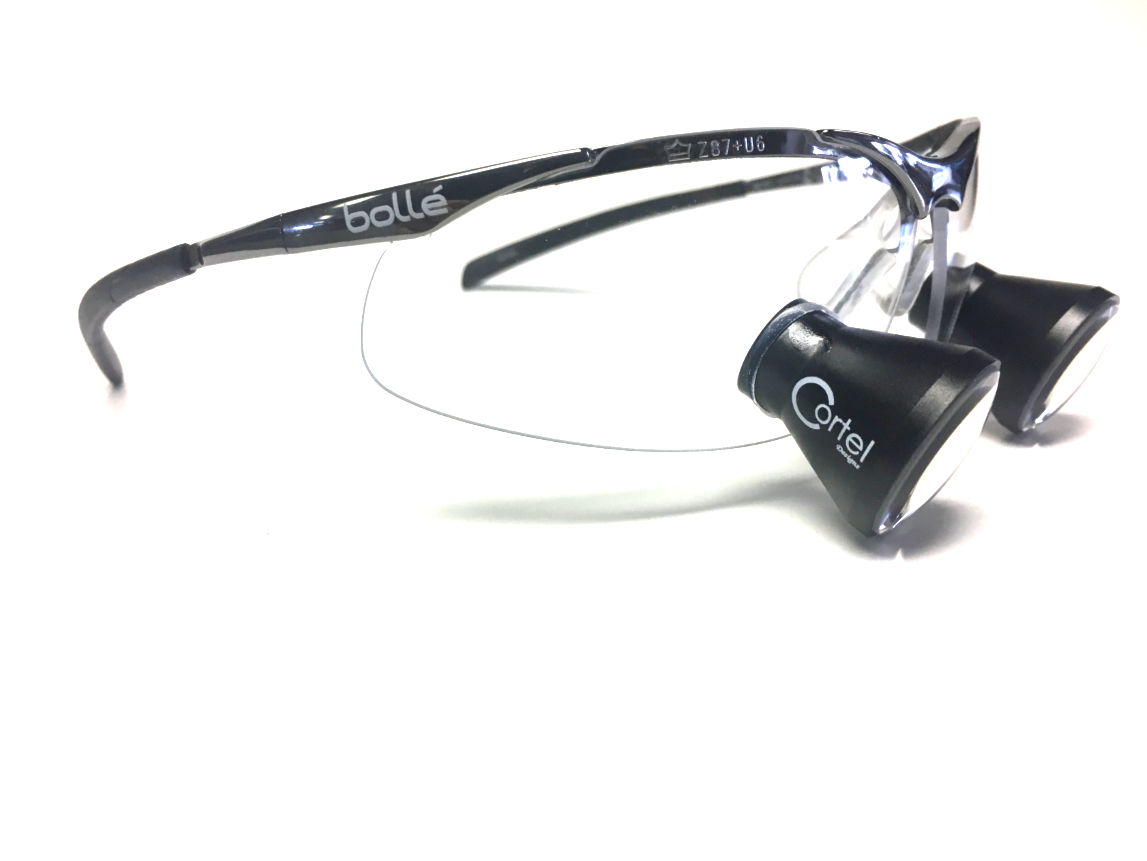 Dental hygiene loupes - Cortel Designs