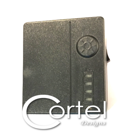 Battery | Cortel Designs custom TTL through the lens loupes for prescription glasses, battery powered surgical LED headlights