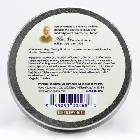 Shave-Soap, 4oz, Heartwood®