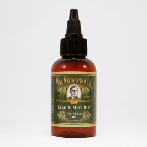 Pre-Shave Oil, Lime & Mint Rum™