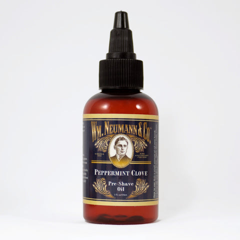 Pre-Shave Oil, Peppermint Clove