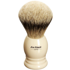 da Vinci- Shaving Brush, Silvertip Badger, 296