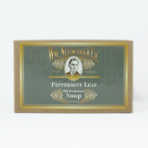 Old-Fashioned Bar Soap, Peppermint Leaf
