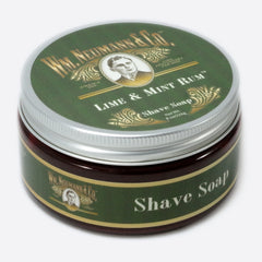 Shave-Soap, Half-Pounder, Lime & Mint Rum™