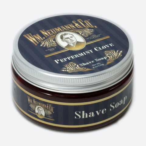 Shave-Soap, Half-Pounder, Peppermint Clove