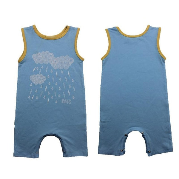 Baby Boys Romper Girls Summer Sleeveless Jumpsuit Cactus Letter Printing Infant Newborn Clothes Tiny Cottons Rompers - KB ALL ABOUT SERVICEZ