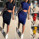 Two Piece Set Summer Dresses Women - KB ALL ABOUT SERVICEZ