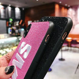 Embroidery Smile Phone Crossbody Case Cover with Strap Long Chain For Samsung note 9 8 S9 S8 Plus Case For iPhone XS Max XR 8 6 - KB ALL ABOUT SERVICEZ