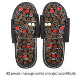 Foot Massage Slippers Acupuncture Therapy Massager Shoes For Foot Acupoint Activating Reflexology Feet Care Massageador Sandal - KB ALL ABOUT SERVICEZ