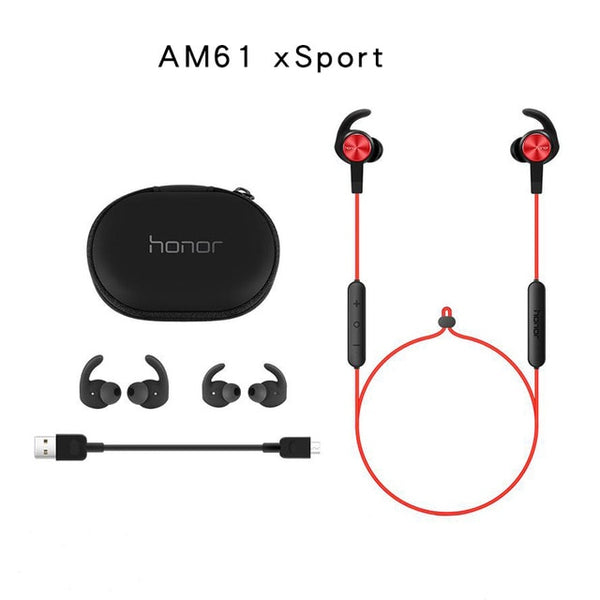 Original Huawei Honor xSport Bluetooth Earphone AM61 IPX5 Waterproof Music Mic Control Wireless Headset For Xiaomi Android IOS - KB ALL ABOUT SERVICEZ