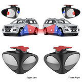2pcs Universal (Left+Right) Black HD Front+Rear Side View Car - KB ALL ABOUT SERVICEZ