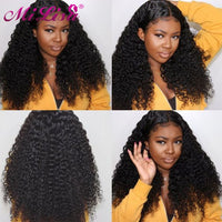 Women Curly Human Hair Wigs Remy Brazilian Hair - KB ALL ABOUT SERVICEZ