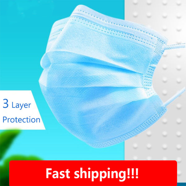 Face Masks Anti Dust Non-woven Safe Disposable Breathable Face Mouth Masks Anti Fog Mouth Masks - KB ALL ABOUT SERVICEZ