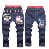 Baby Boys Clothes Cartoon Pattern Printing Clothes Kids Jeans Children Pants  Casual Denim Pants Baby Girls Jeans - KB ALL ABOUT SERVICEZ